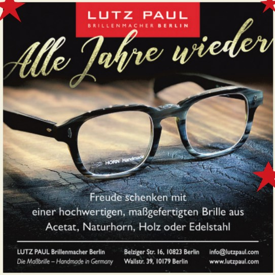 Lutz Paul Brillenmacher Berlin